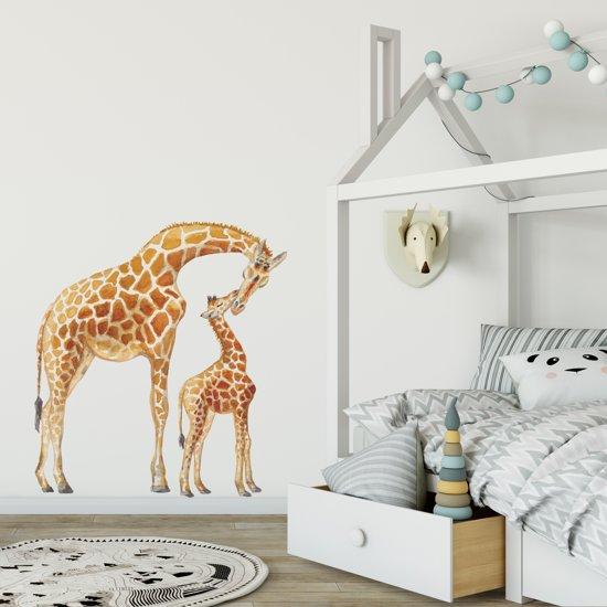 Muursticker Giraffe Kinderkamer.Bol Com Muursticker Giraf Babykamer Kinderkamer Dieren In