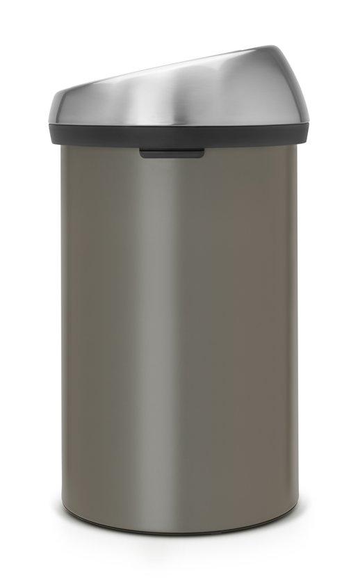 Brabantia Touch Bin 60 Liter Platinum