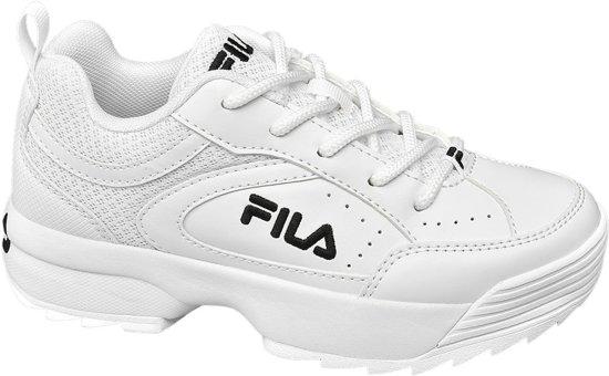 568796b38b5 bol.com | Fila Kinderen Witte Chunky sneaker - Maat 32