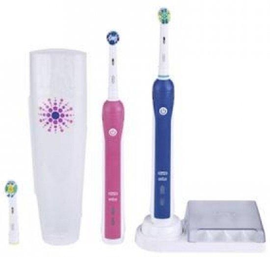 Oral-B Elektrische Tandenborstel ProfessionalCare 3000 met extra handvat - Pink Limited Design Edition