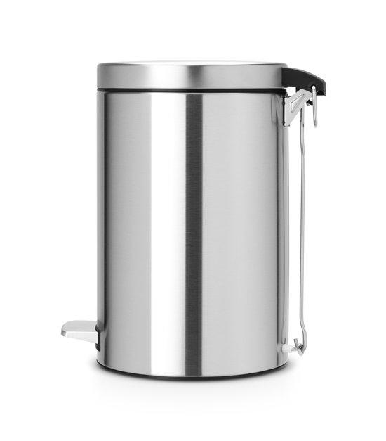Brabantia Pedaalemmer 12 Liter Matt Steel