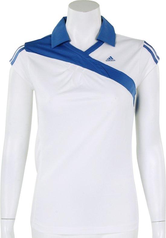 adidas Girls Response Cap - Sportpolo - Kinderen - Maat 176 - White;Purple