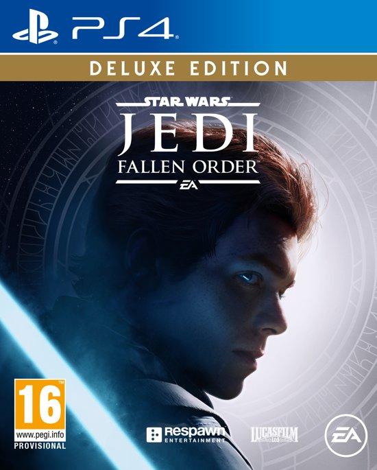 Cover van de game Star Wars Jedi: Fallen Order - Deluxe Edition - PS4