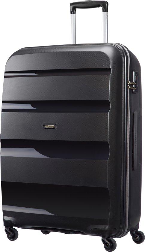 american tourister bon air spinner l koffer 75 cm zwart. Black Bedroom Furniture Sets. Home Design Ideas