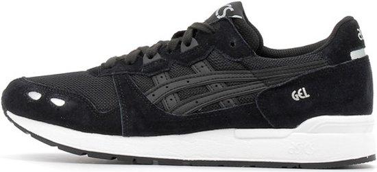 Black Asics lyte black 44 5 Heren Gel Sneakers Maat wrwqR6z