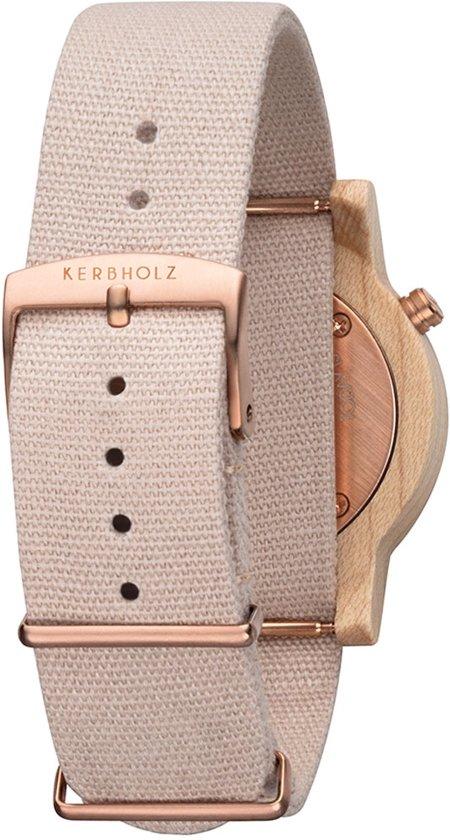 Kerbholz Wilma Maple Horloge