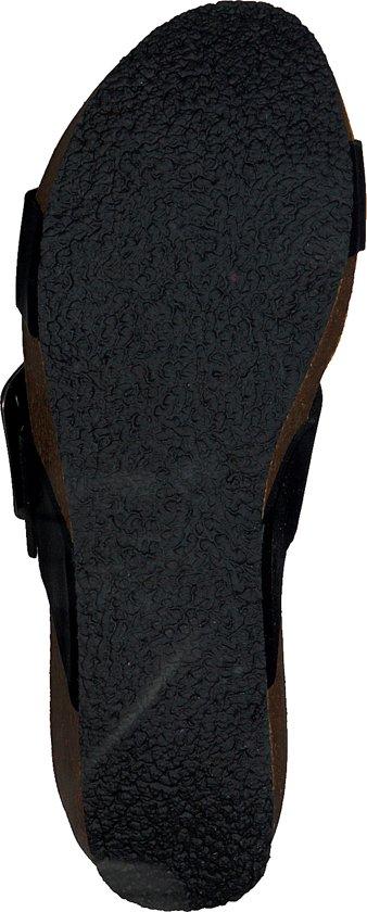 Dames Rag Maat 78074Zwart Red Slippers 36 qSVLzpjUGM