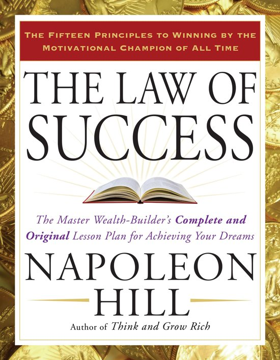 Boek cover The Law of Success van Napoleon Hill (Paperback)