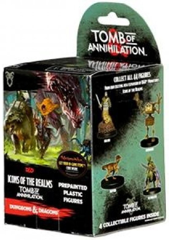 D&D Icons of the Realms Tomb Of Annihilation Miniatures Booster (Dungeons and Dragons)