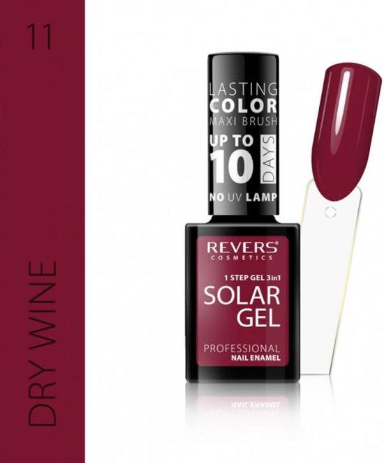 REVERS® 3in1 Solar Gel Nagellak 12ml. - #11 Dry Wine