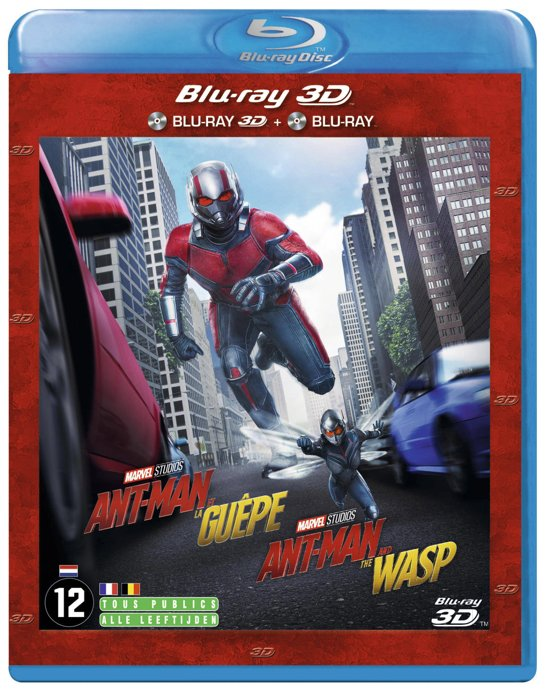 DVD cover van Ant-Man and the Wasp (3D Blu-ray)