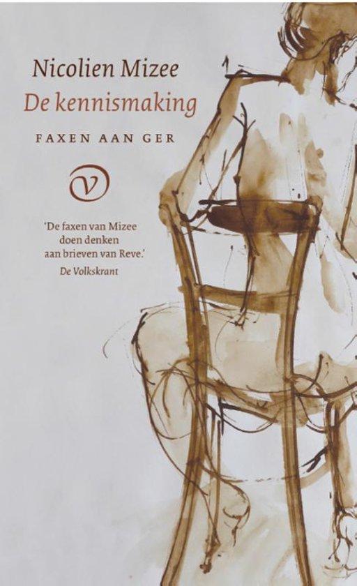 Boek cover Faxen aan Ger - De kennismaking van Nicolien Mizee (Paperback)