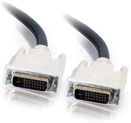 C2G 5m DVI-D M/M Cable DVI kabel Zwart