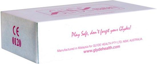 Glyde Aarbei condooms 100 stuks