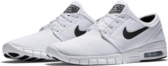 best sneakers 84ea0 b489d Nike Stefan Janoski Max Sneakers Heren Sportschoenen - Maat 43 - Mannen -  wit zwart