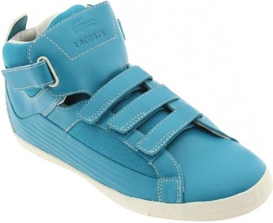 Lacoste Hoge Sneakers Chevel Hi S Heren Hemelsblauw Maat 44,5