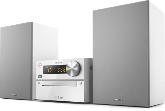Philips BTM2312/12 home audio set Home audio-microsysteem Zilver 15 W