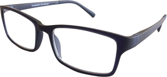 Fangle Biobased leesbril mat donker blauw +2.5