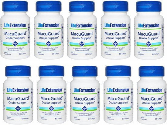 Macuguard Ocular Support, 60 Softgels, 10-packs