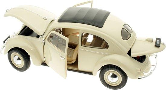 Welly Volkswagen Kever Brezelfenster 1950 Wit 1 18