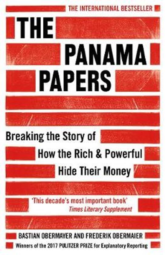 Boek cover The Panama Papers van Frederik Obermaier (Paperback)