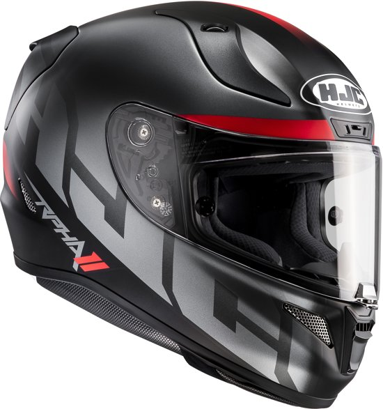 HJC Integraalhelm RPHA-11 Spicho MC-5SF Grey/Red-L