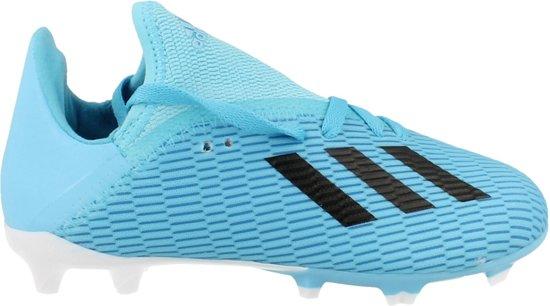 adidas X 19.3 FG Junior Voetbalschoenen Kinderen BlauwWit F35366