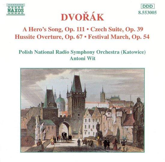 Dvorak: A Hero's Song, Czech Suite, etc / Wit, Katowice
