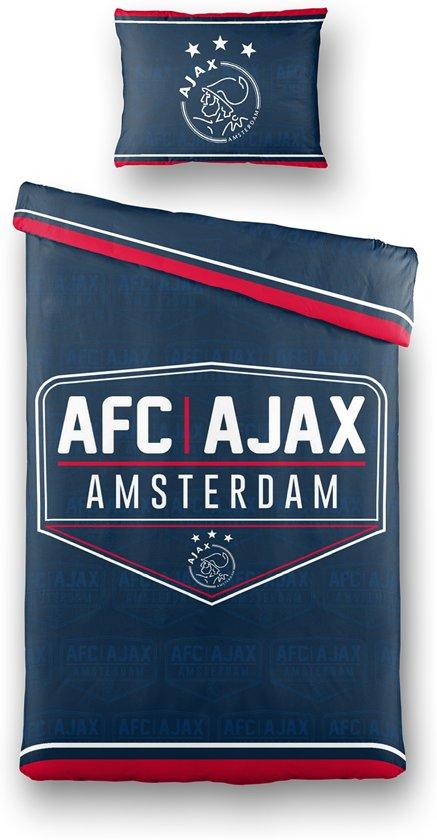 Ajax dekbedovertrek - navy