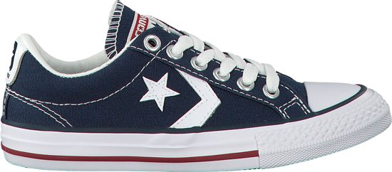 93840e731dd bol.com | Converse Meisjes Sneakers Star Player Ev Ox Kids - Blauw ...