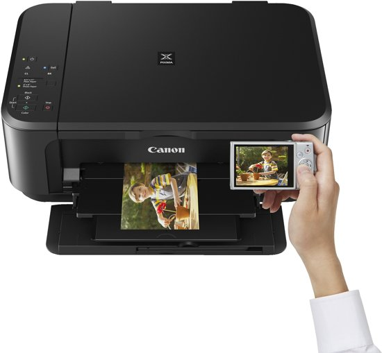 Canon PIXMA MG3650 - All-in-One Printer / Zwart