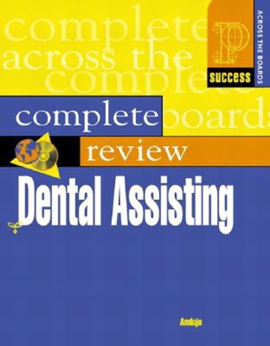 Prentice Hall Health's Complete Review Of Dental Assisting