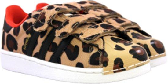 | Adidas Superstar CF I leopard maat 26