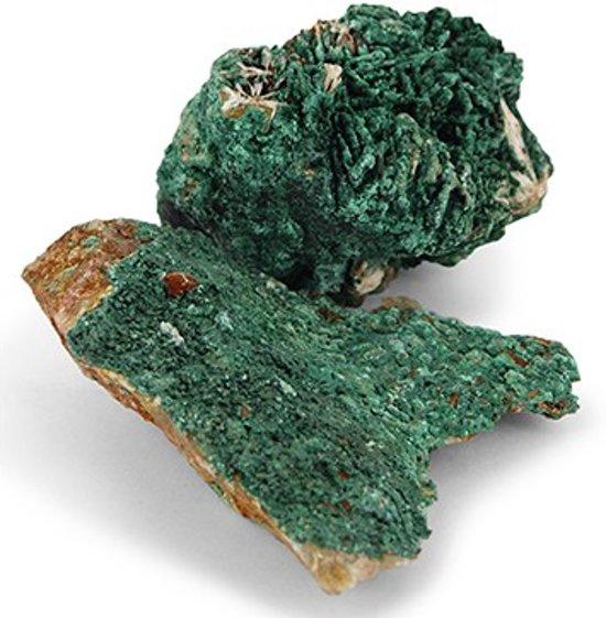 Malachiet ruw - groen