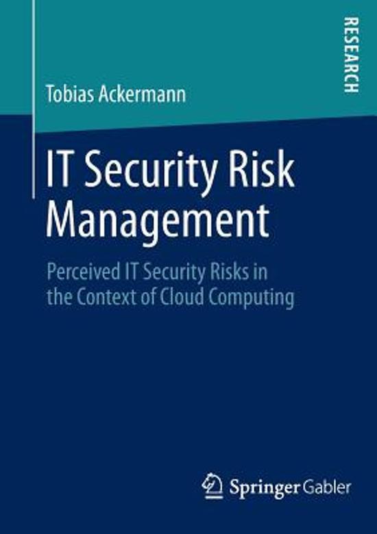 IT Security Risk Management