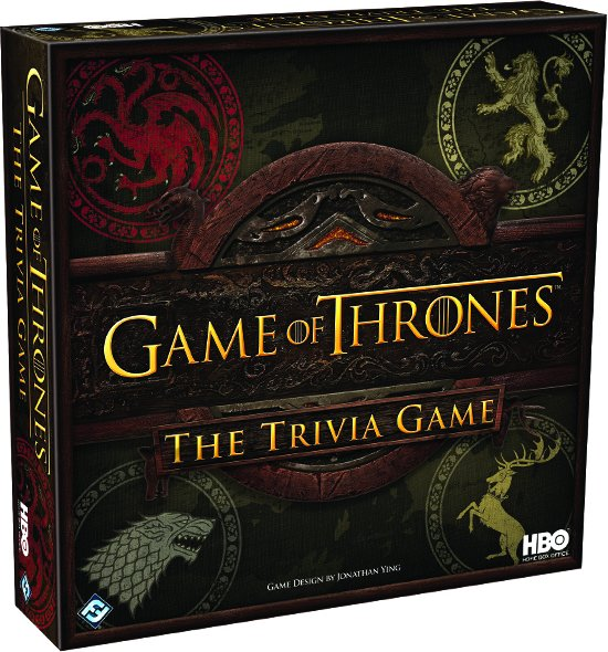 Game of Thrones The Trivia Game HBO