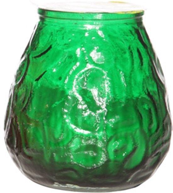 Cosy&Trendy - Lowboy kaarsen groen 40U (6 stuks)