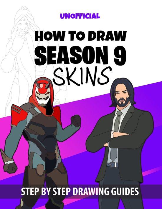 How to draw Season 9 skins