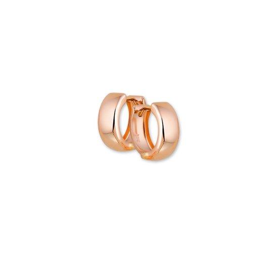 The Jewelry Collection Klapoorringen 5,0 mm Bol - Ros�goud