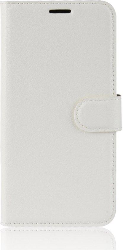 Mobigear Litchi Wallet Book Case Wit Samsung Galaxy A6 (2018)
