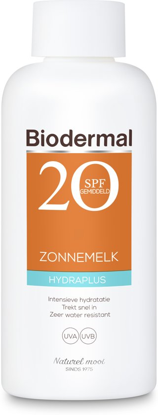 Biodermal zonnem. hydra+ f20 200 ml