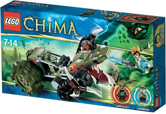 LEGO Chima Crawley's Claw Ripper - 70001