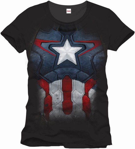 AVENGERS - MARVEL T-Shirt Captain Suit (L)