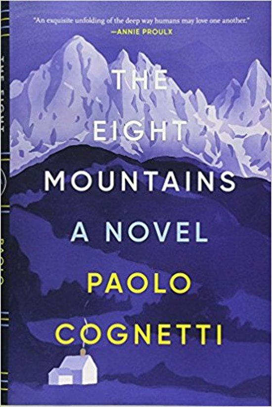 Boek cover The Eight Mountains van Paolo Cognetti (Hardcover)