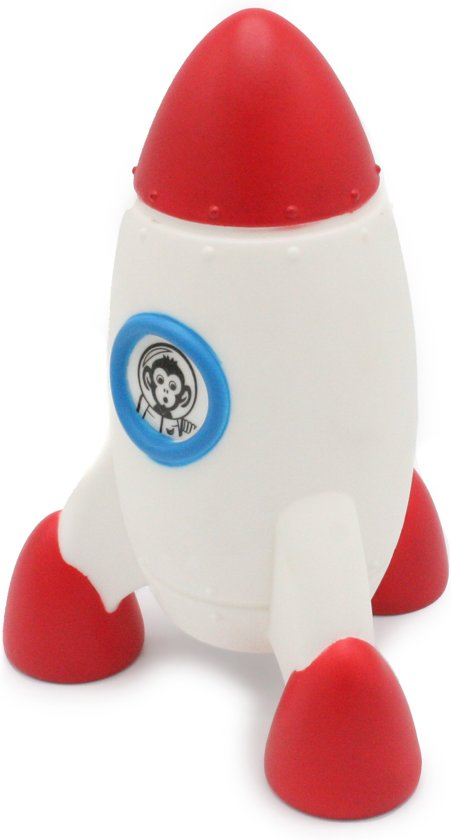 bol.com | Raket rood Nachtlampje, LED verlichting, Kinderkamer ...