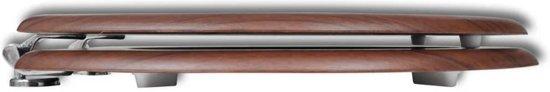 vidaXL Toiletbril met hard-closedeksel 2 st MDF bruin