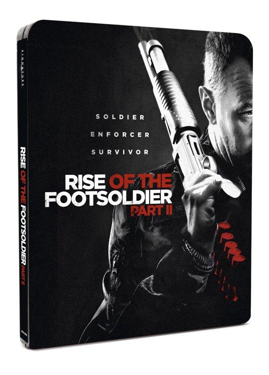 Rise Of The Footsoldier: Part II Steel Book [Blu-ray](import zonder NL ondertiteling)