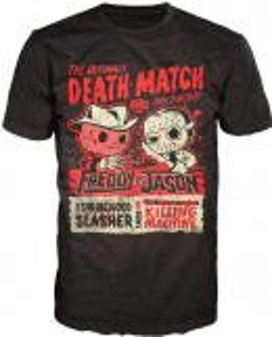 Merchandising HORROR - T-Shirt POP - Freddy vs Jason (XL)
