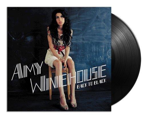 CD cover van Back To Black (2LP Half-Speed Mastered) van Amy Winehouse