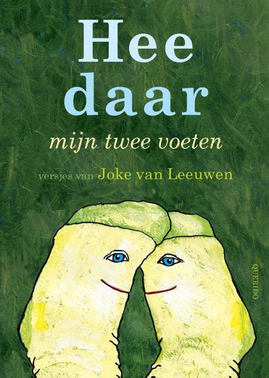 Boek cover Hee daar mijn twee voeten van Joke van Leeuwen (Hardcover)